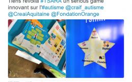 Tiens revoilà TSARA – Un tweet de Ségolène Neuville.